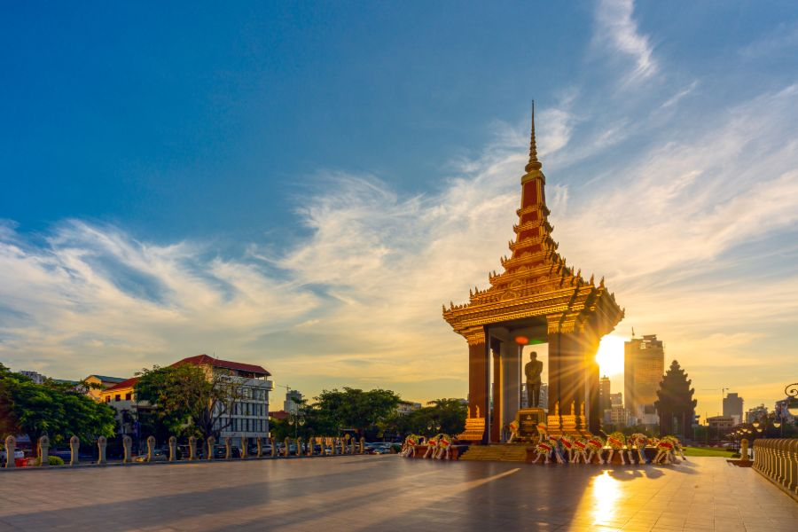 Cambodja Phnom Penh City