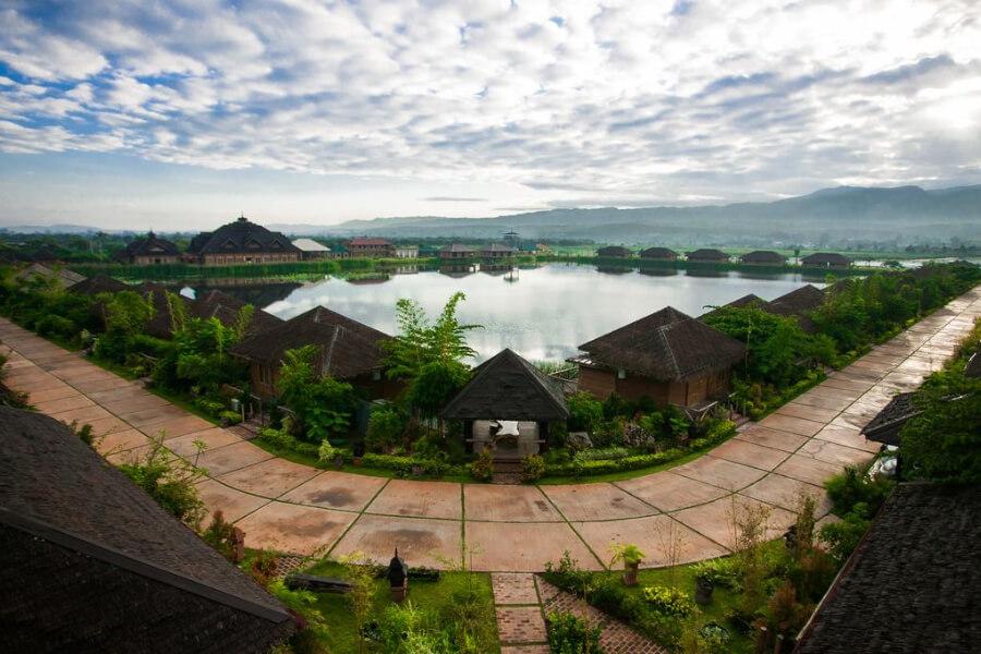 Hotel Myanmar Inle Lake Royal Nadi Lake19