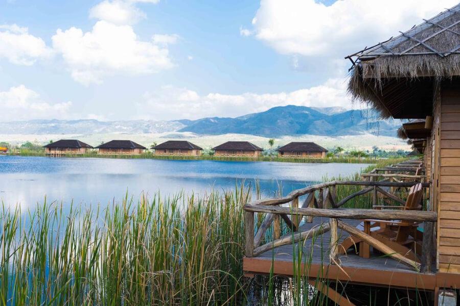 Hotel Myanmar Inle Lake Royal Nadi Lake28