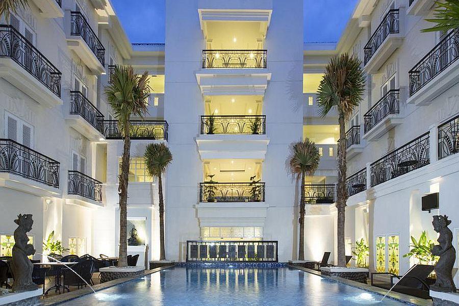 Indonesie Hotel Indies Heritage Hotel Jogjakarta Zwembad