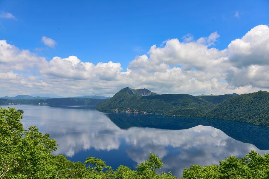 Japan Hokkaido Akan National Park Lake Mashu meer