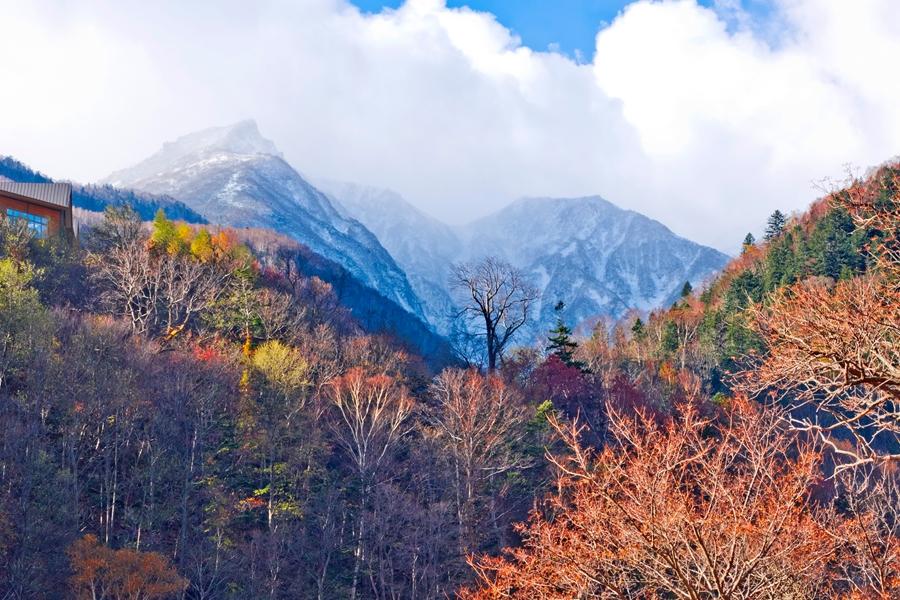 Japan Hokkaido Daisetsuzan Mt Kurodake