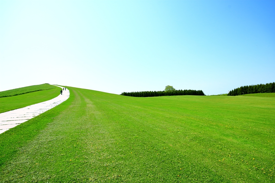 Japan Hokkaido Sapporo Modern Moerenuma park
