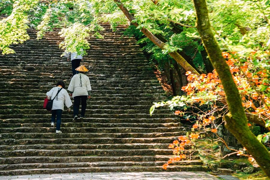 Japan Kochi Shikoku Godaisan mountain Chikurin ji tempel