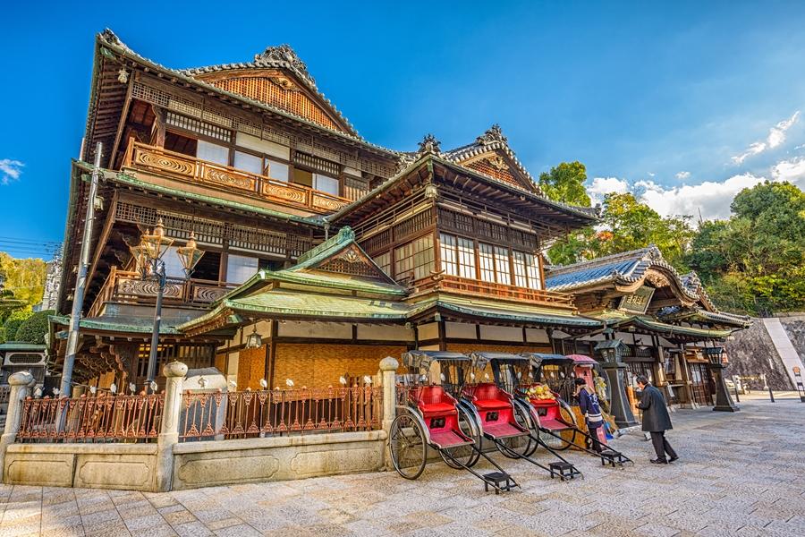Japan Matsuyama Dogo Onsen badhuis