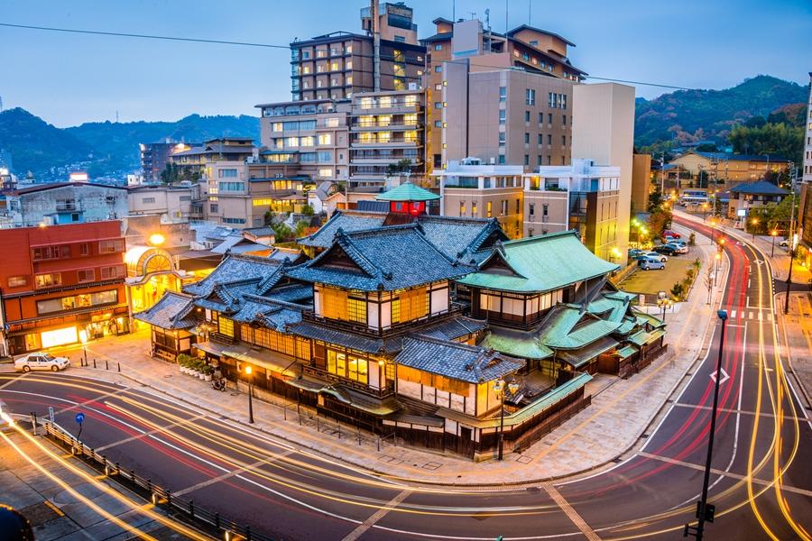 Japan Matsuyama Dogo Onsen