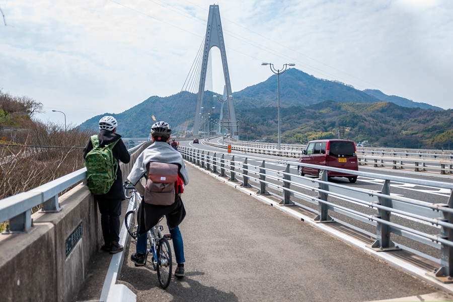 Japan Onomichi Ikuchi Bridge brug