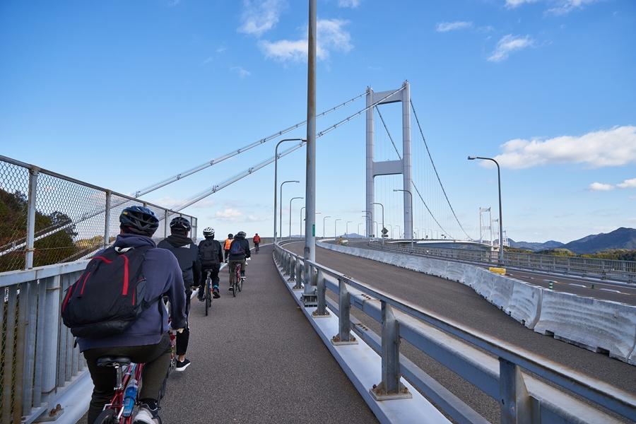 Japan The Shimanami Kaido fietsroute