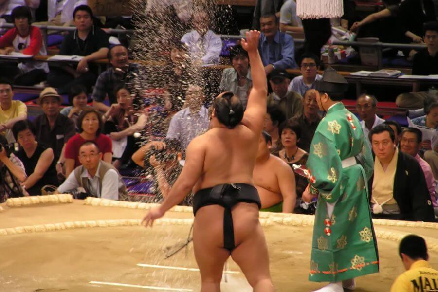 Japan Tokio Sumo worstelen