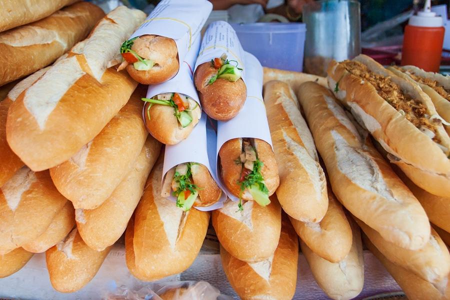 Laos heerlijke baguettes Franse invloeden in het eten