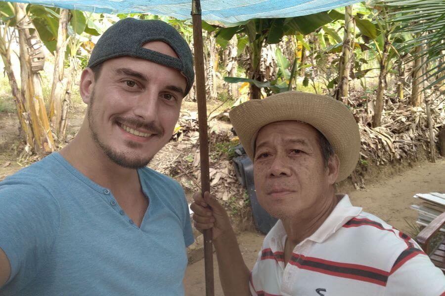 Maleisie Nick met uncle