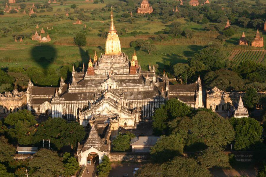 Myanmar Bagan Balloonvlucht 01