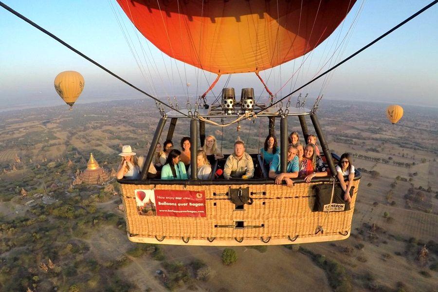 Myanmar Bagan ballonvlucht Natasja Bagan 20200317 2