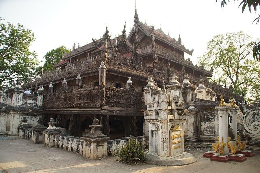 Myanmar Mandalay Shwenandaw Monastery 01