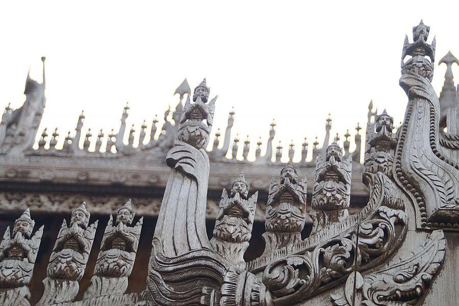 Myanmar Mandalay Shwenandaw Monastery 02