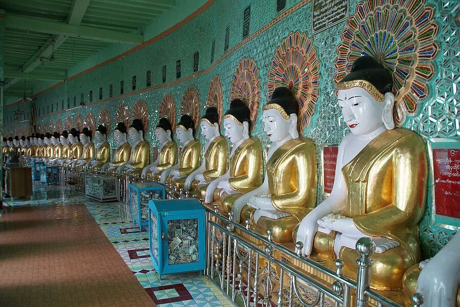 Myanmar Mandalay Tempel 01