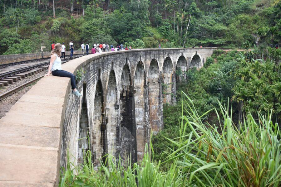 Sri Lanka Ella Nine Arch Bridge