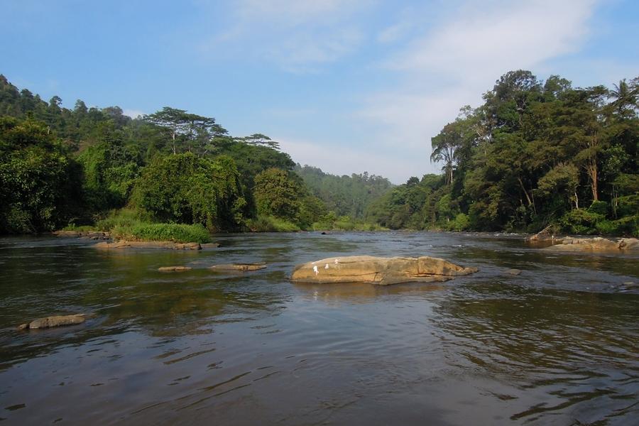 Sri Lanka Kitulgala Film locatie van de Bridge over de River Kwai