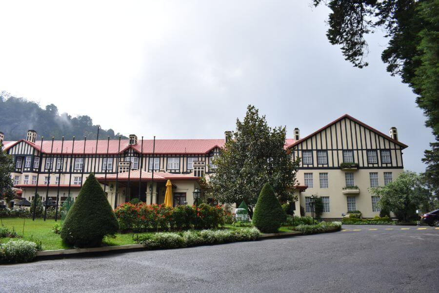 Sri Lanka Nuwara Eliya The Grand Hotel