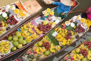 Blog artikel1 'De leukste excursie in Bangkok: de drijvende markt'