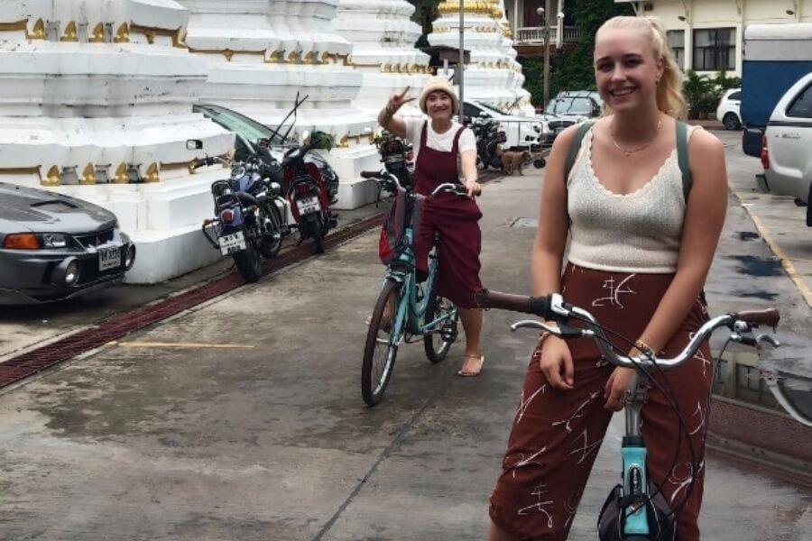 Thailand Bangkok Fietsen 1