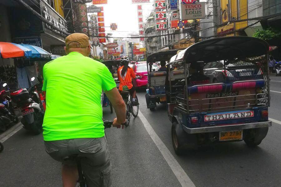 Thailand Bangkok Fietsen en Koken 05