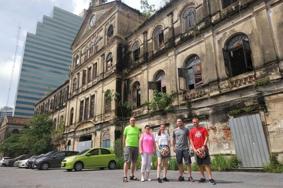 Thailand Bangkok Fietsen