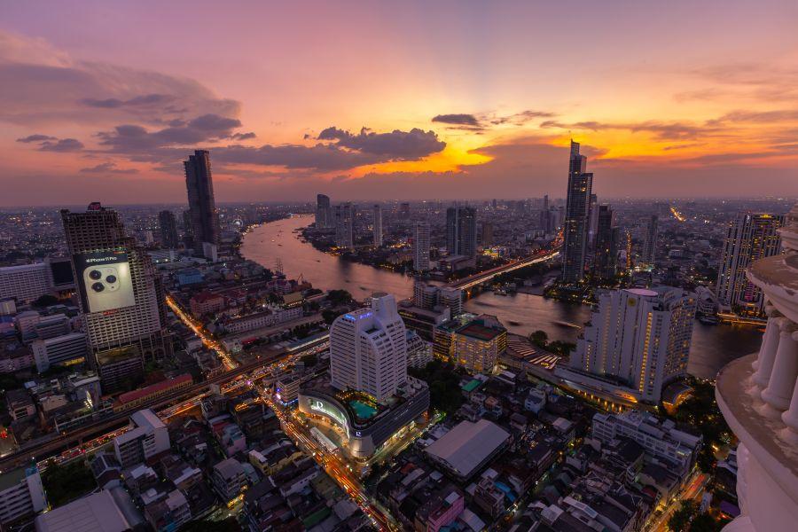 Dag 1 -3: Bangkok