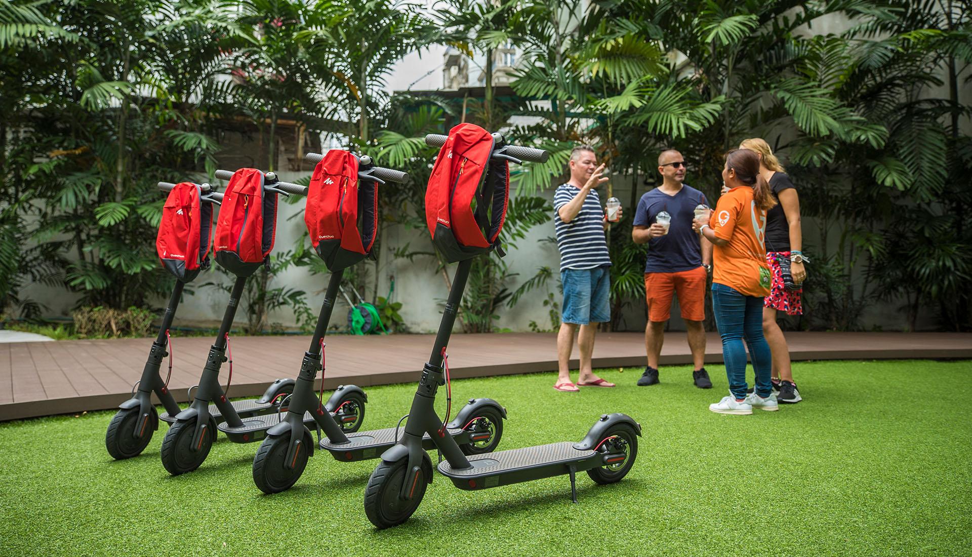 Blog artikel 'De nieuwste sensatie: de E-scooter tour in Bangkok'