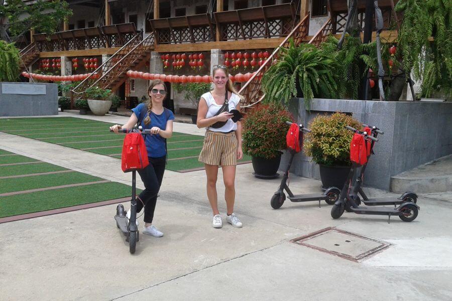 Thailand Bangkok escooter 02