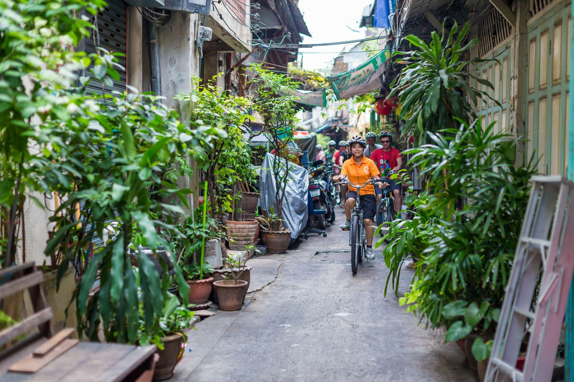 Thailand Bangkok fietstour