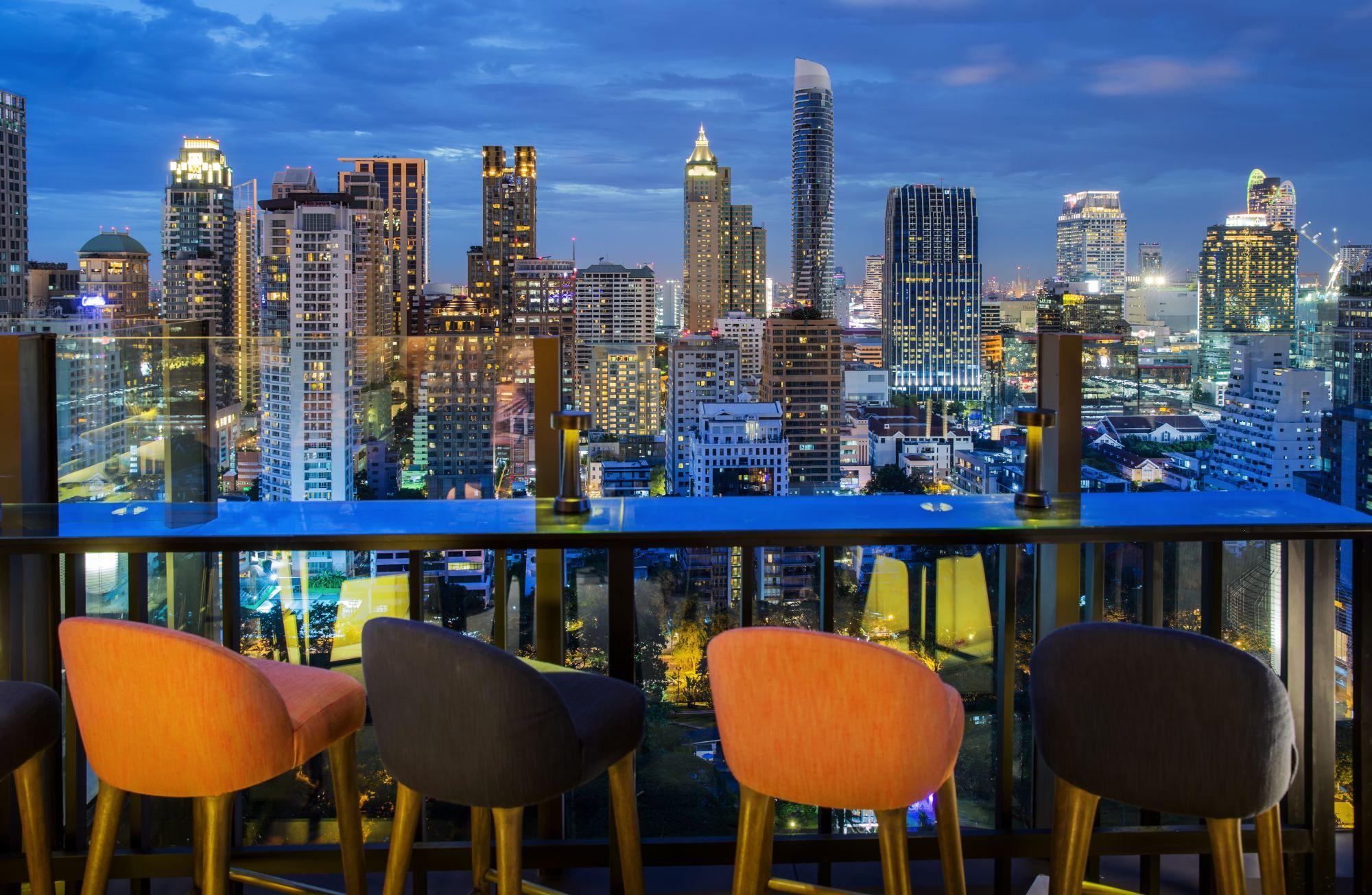 Thailand Bangkok skybar