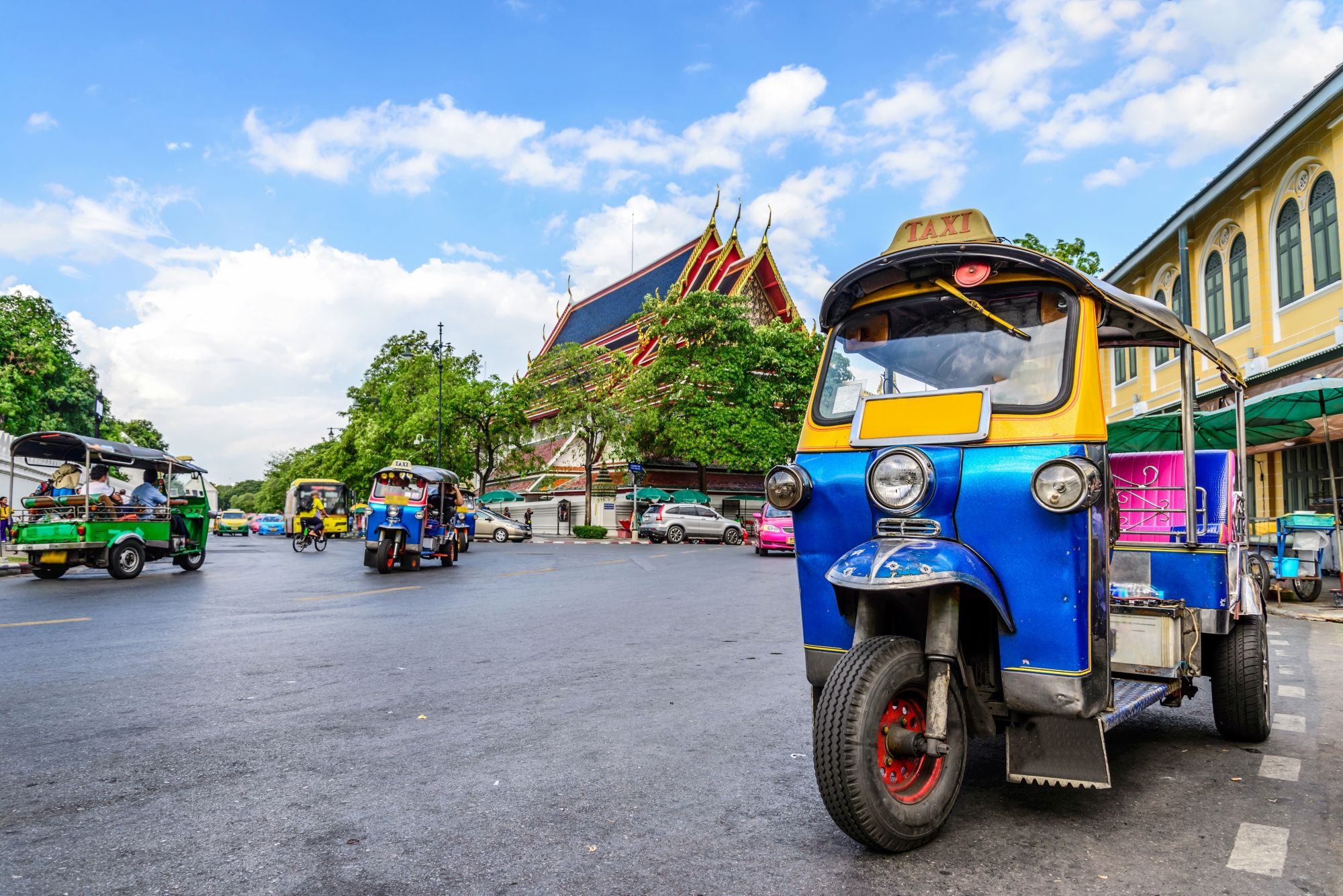 Blog artikel 'Food- en tuktuk tour in Bangkok'