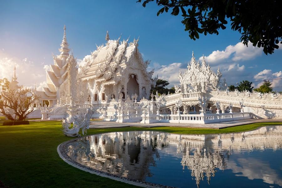 Thailand Chiang Rai Witte Tempel