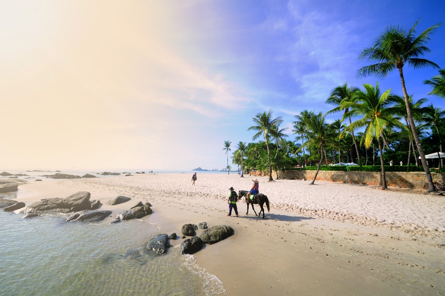 Thailand Hua Hin Strand 3