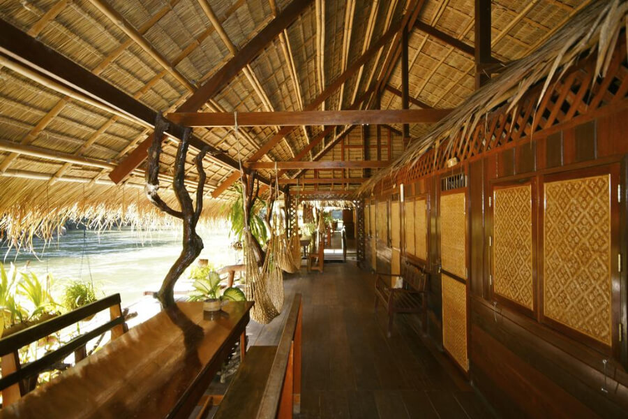Thailand Kanchanaburi River Kwai Jungle Rafts Hotel 11