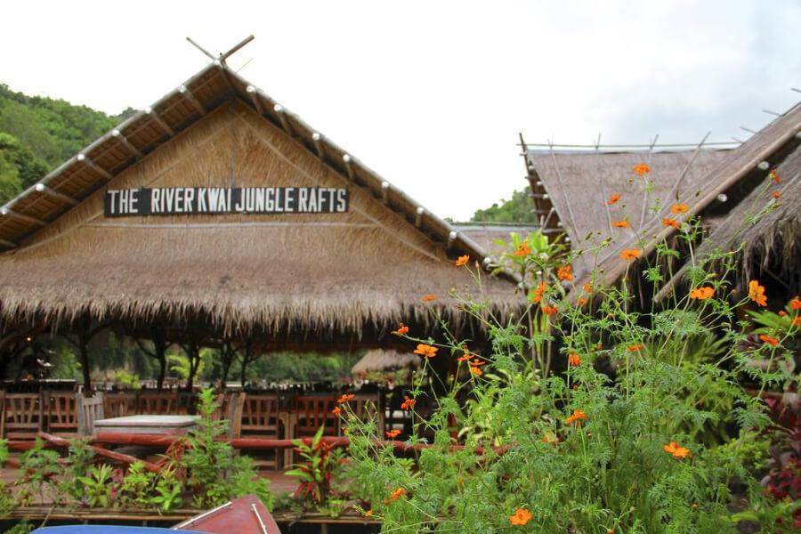 Thailand Kanchanaburi River Kwai Jungle Rafts Hotel 13