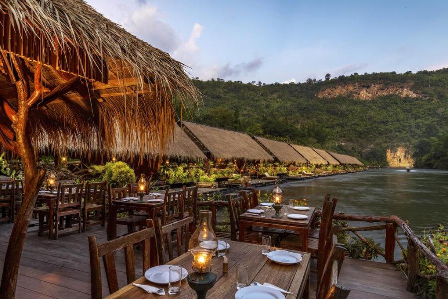 Thailand Kanchanaburi River Kwai Jungle Rafts Hotel 22