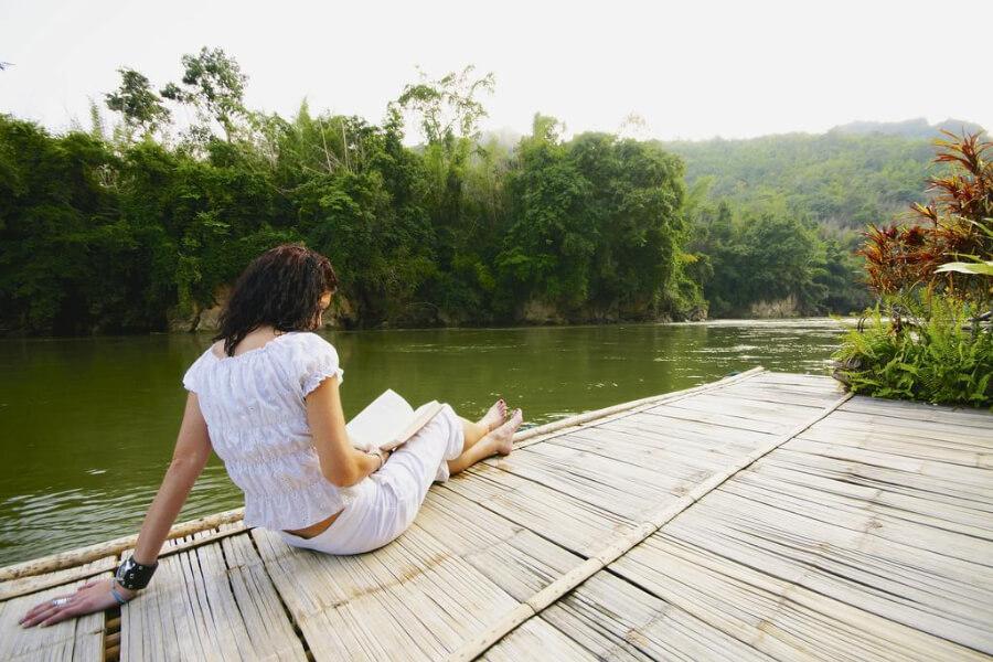 Thailand Kanchanaburi River Kwai Jungle Rafts Hotel 4