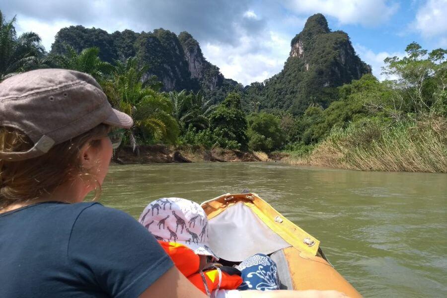 Thailand Khao Sok Nationaal Park Rivier 03