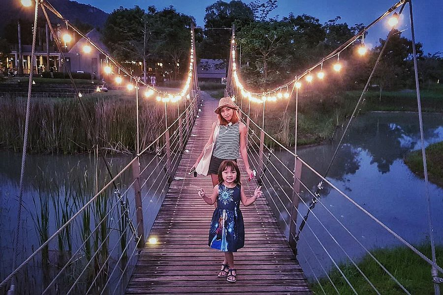 Thailand Khao Yai Lala Mukha brug