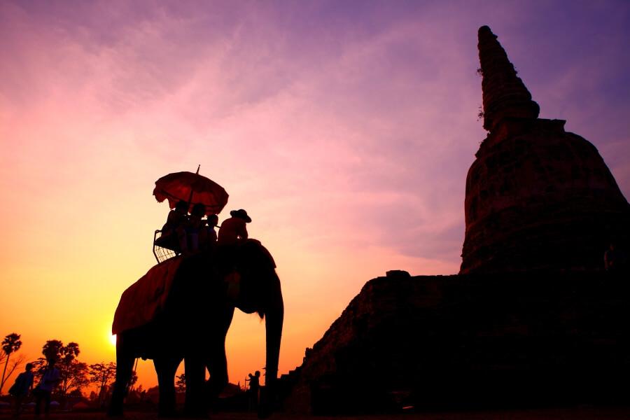 Thailand Olifant rijden doen we niet meer 1