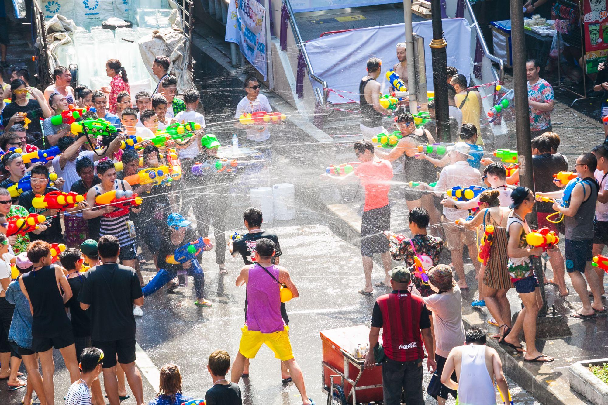 Blog artikel 'Thais Nieuwjaar - Songkran'