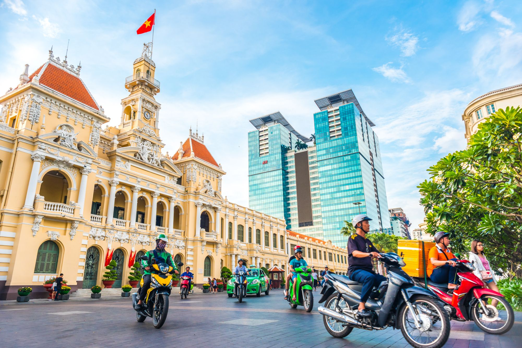 Vietnam Ho Chi Minhstad Saigon city hall