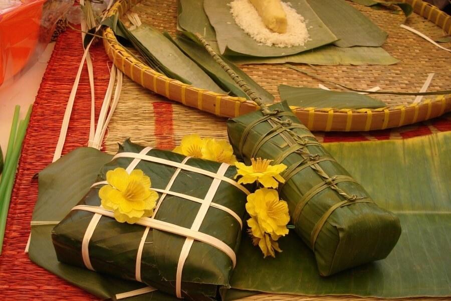 Vietnam Hoi An Vietnamees Nieuwjaar Cadeau eten