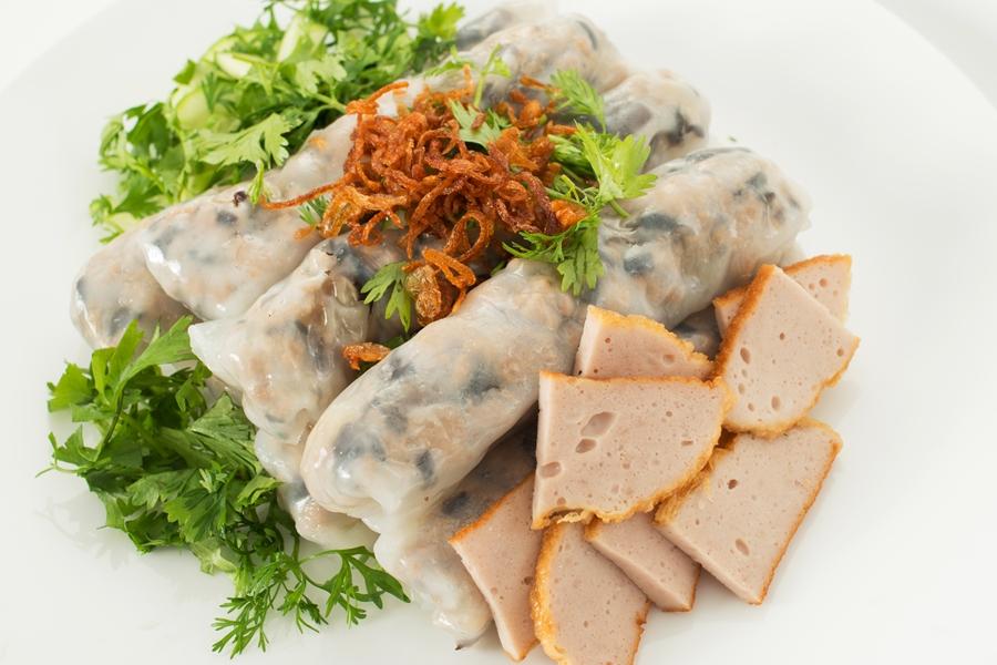 Vietnam eten Banh Cuon