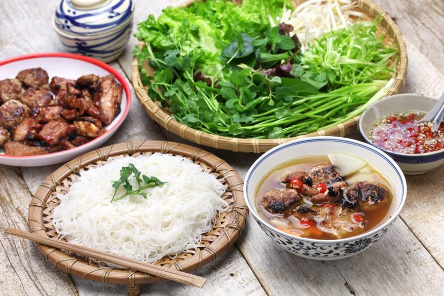 Vietnam eten Bun Cha