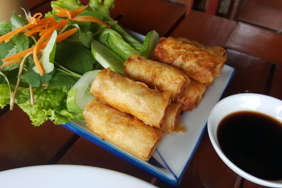 Vietnam eten Cha Gio of Nem Vietnamese loempia
