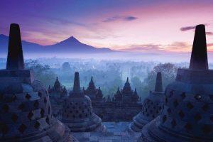 Zonsopkomst Borobudur