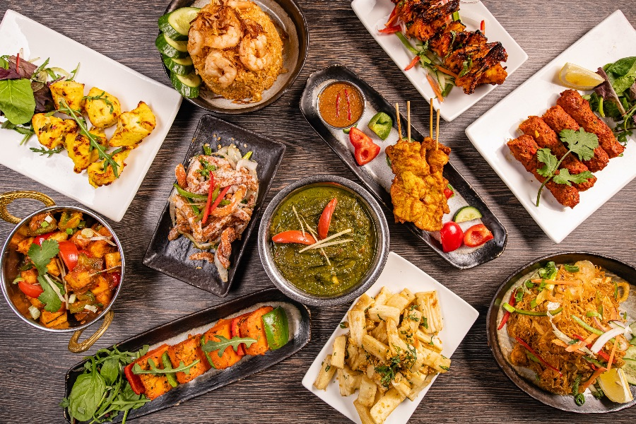 Asian Food eten